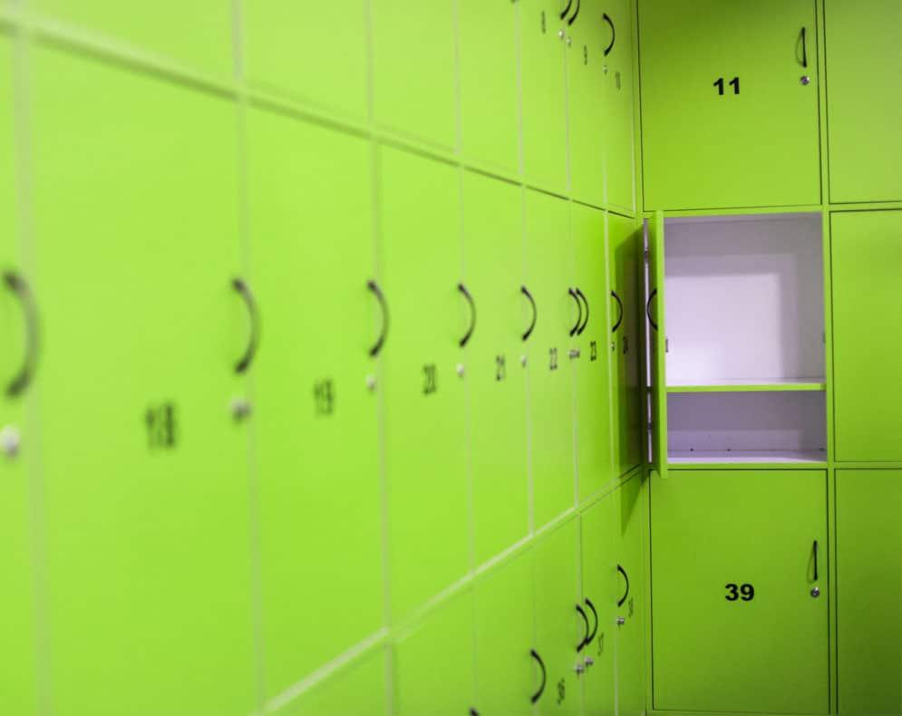 breakroom lockers